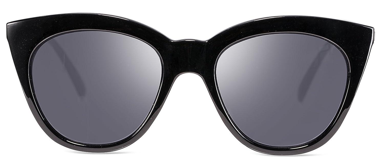 b7d522101c Super Cute Dark Cat-Eye Fashion Designer Unisex Sunglasses -100% UV400  Protection - FDA and CE Standards  Amazon.ca  Clothing   Accessories