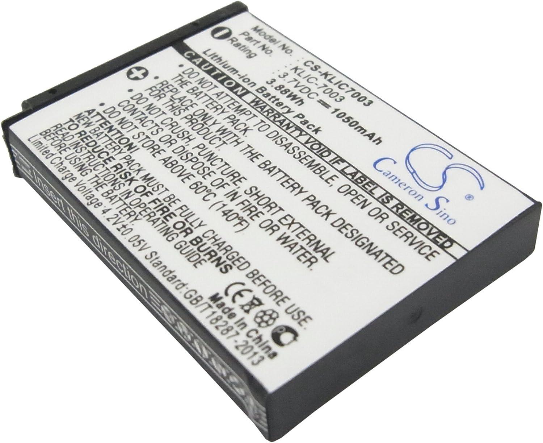 3x Batería INTENSILO 750mAh PARA KODAK EASYSHARE V1253 V1273 M-1033 ACCU
