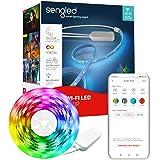 Sengled WiFi Smart LED Strip Lights 16.4ft Work with Alexa Google Home, 16 Million Colors Smart Light Strip with Audio Sync,