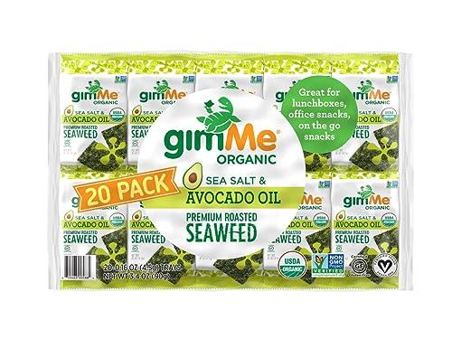 gimMe Organic Roasted Seaweed Sheets