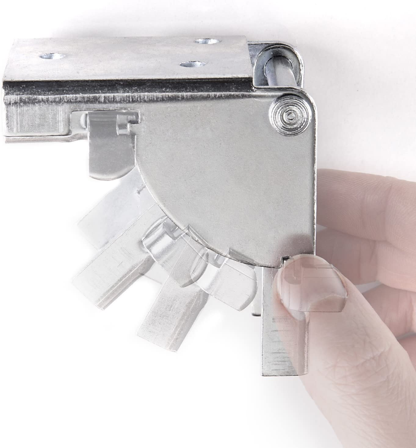 2 x SO-TECH/® Mensula plegable para Pata de Mueble Bisagra Consola plegable para Mesa plagable 38 x 38 mm