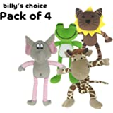 """Billy's Choice """"I Love Animals"""" Squeaky Dog Toy Gift Set"""
