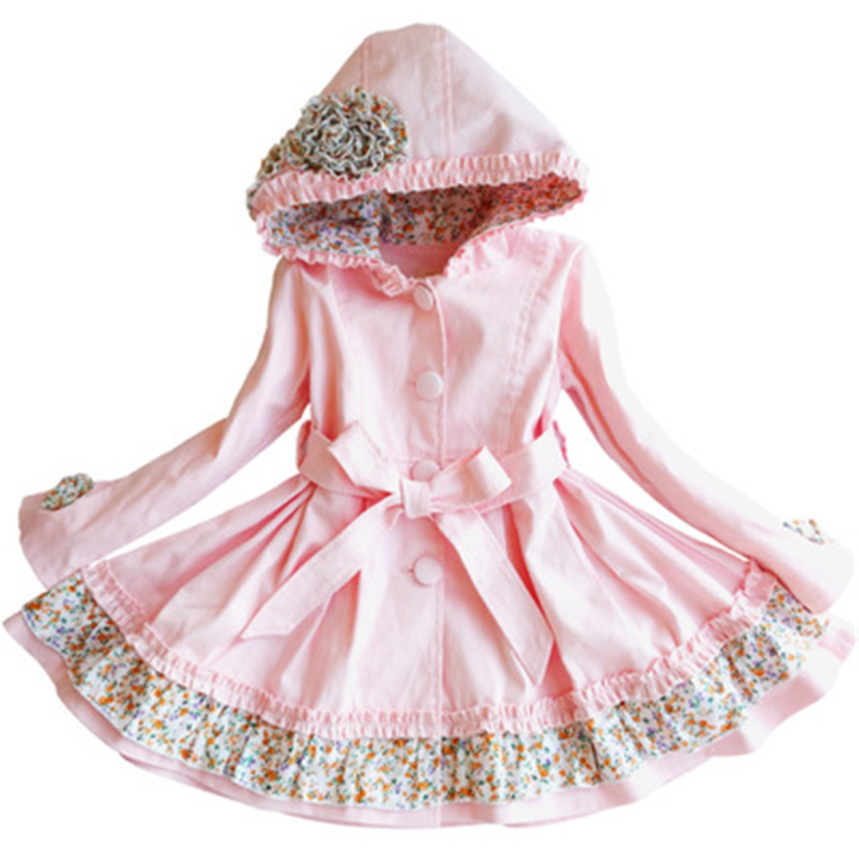 6b287d547932 David Nadeau New Spring Autumn Girls Windbreaker Kids Trench Coat 4 ...