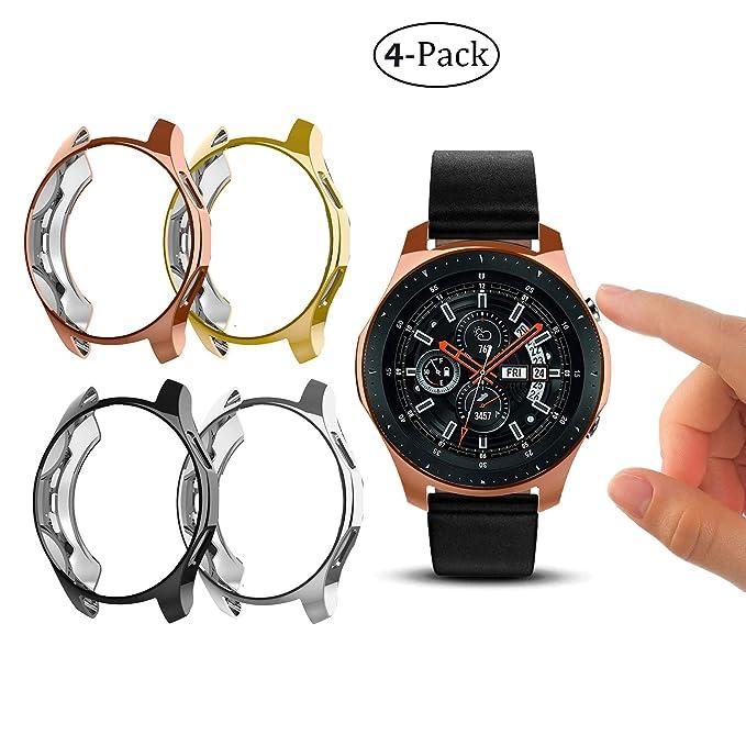 Carcasa Protectora para Samsung Galaxy Watch de 46 mm, Silicona ...