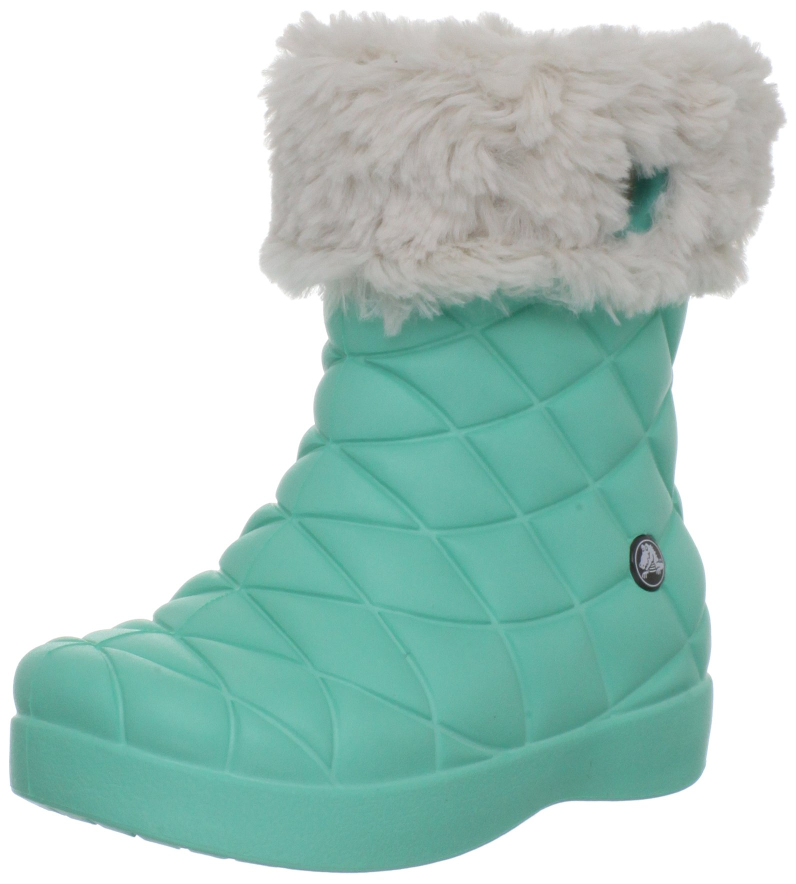 Crocs Super Molded Boot G Boot (Toddler/Little Kid/Big Kid),Island Green/Oyster,8 M US Toddler