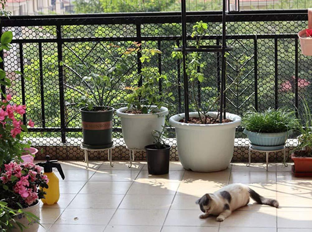 Protector de pl/ástico de Seguridad para Mascotas y ni/ños Red de Seguridad para escaleras Red de Seguridad para Mascotas y Mascotas protecci/ón contra ca/ídas balc/ón o Patios Maran Banister