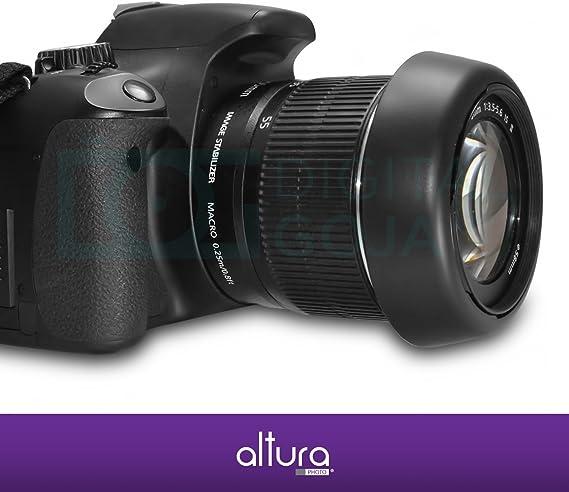 Canon 2647A002 EW63II Lens Hood for EF 28 f//1.8 28-105 f//3.5-4.5 /& 28-105 f//4.0-5.6 SLR Lens