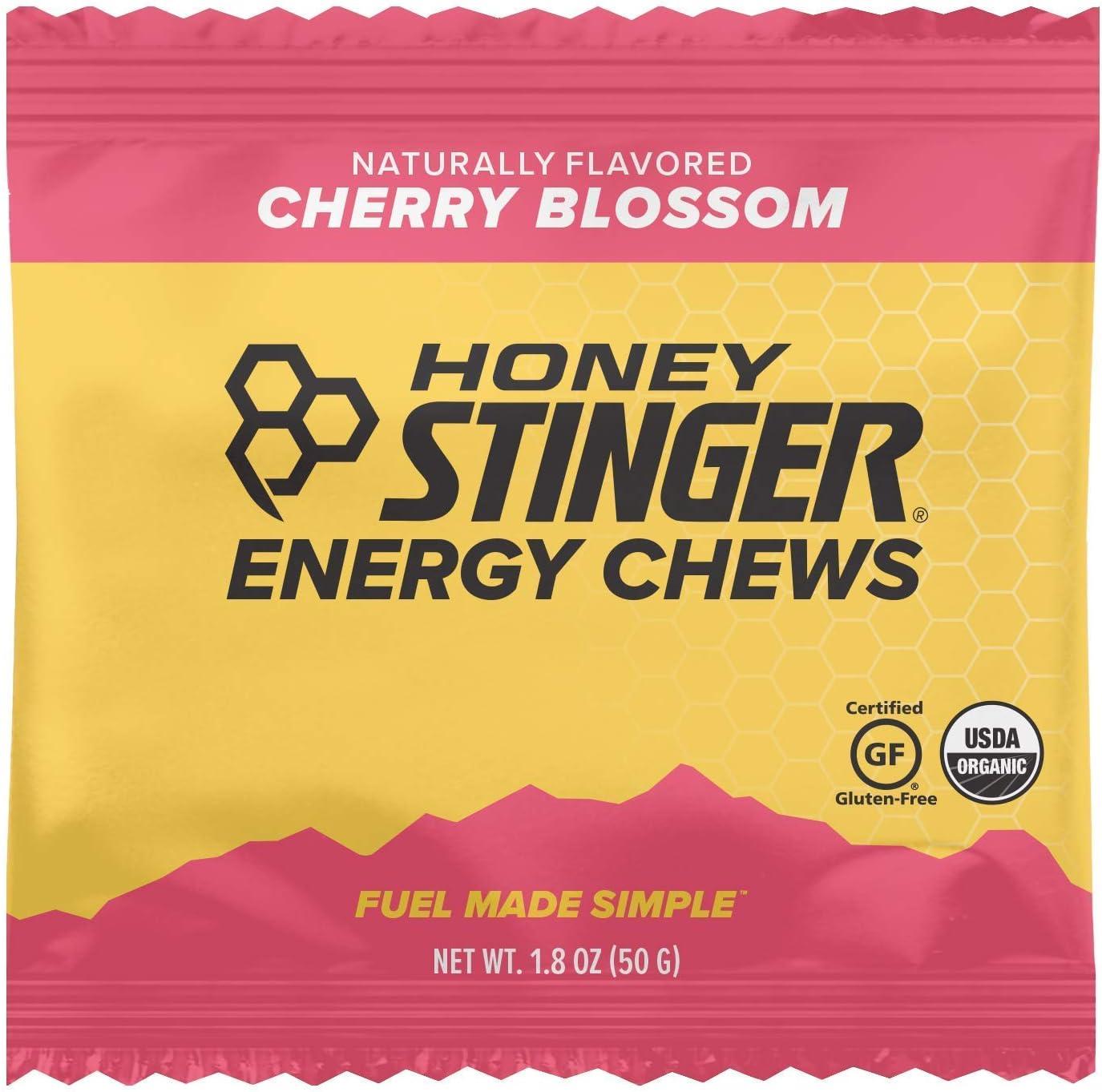 Honey Stinger Organic Energy Chews Box//12 Cherry Blossom