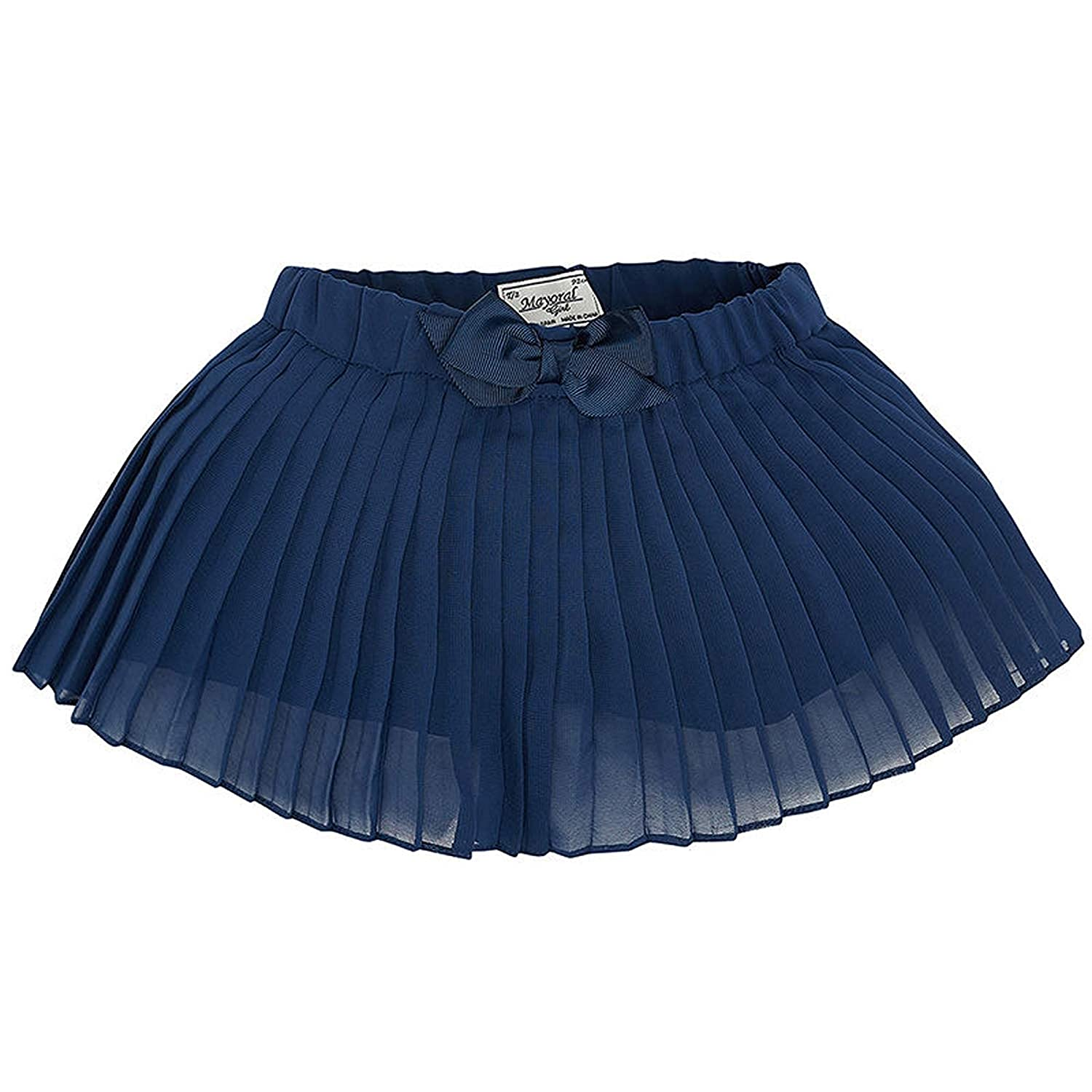 Mayoral Chic Little Girls 2-9 Navy-Blue Tiered Chiffon Skort