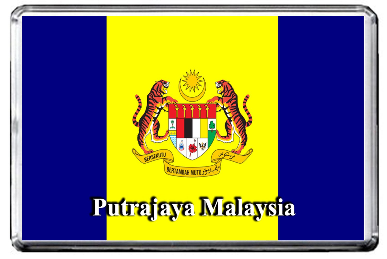 a097プトラジャヤFlagマレーシアの冷蔵庫マグネットCity冷蔵庫マグネット   B0752XTGP6