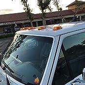 Amazon Com Partsam 5pcs Top Clearance Cab Marker Roof