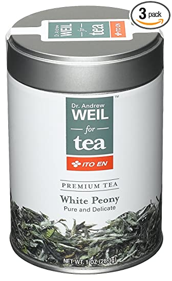 Amazon com : Dr  Weil Tea, White Peony, 1 Ounce (Pack of 3