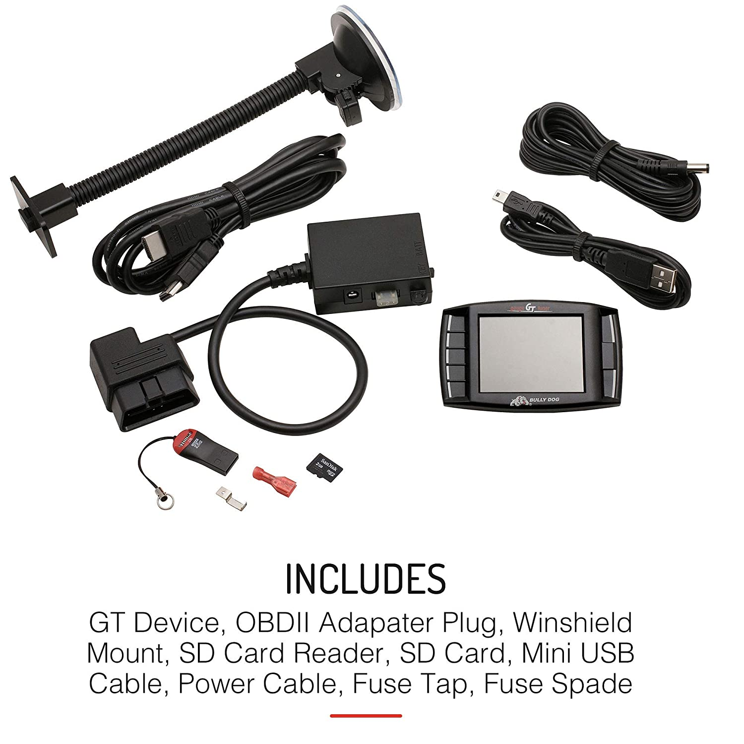 Bully Dog 40420 Gt Platinum Diesel Diagnostic And Electronic Watchdog Kit Quality Electronics Store Kingston Ontario Performance Tuner With 4 Preloaded Tunes Automotive