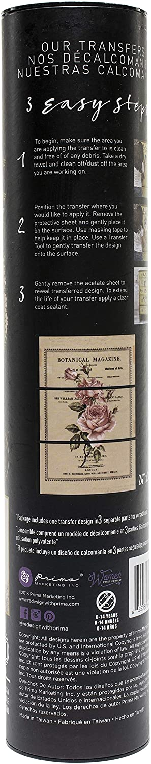 Beautiful Botanist 24X34 PRIMA MARKETING INC 640668 REDESIGN TRANSFER BEAUT BOTA