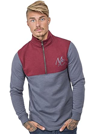 Masters of Ceremony Mens Pullover Zip Overhead Technical Tracksuit Hoodie Hoody