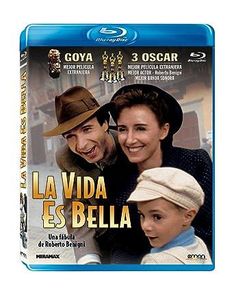 La Vida Es Bella Blu Ray Amazones Roberto Benigni Nicoletta