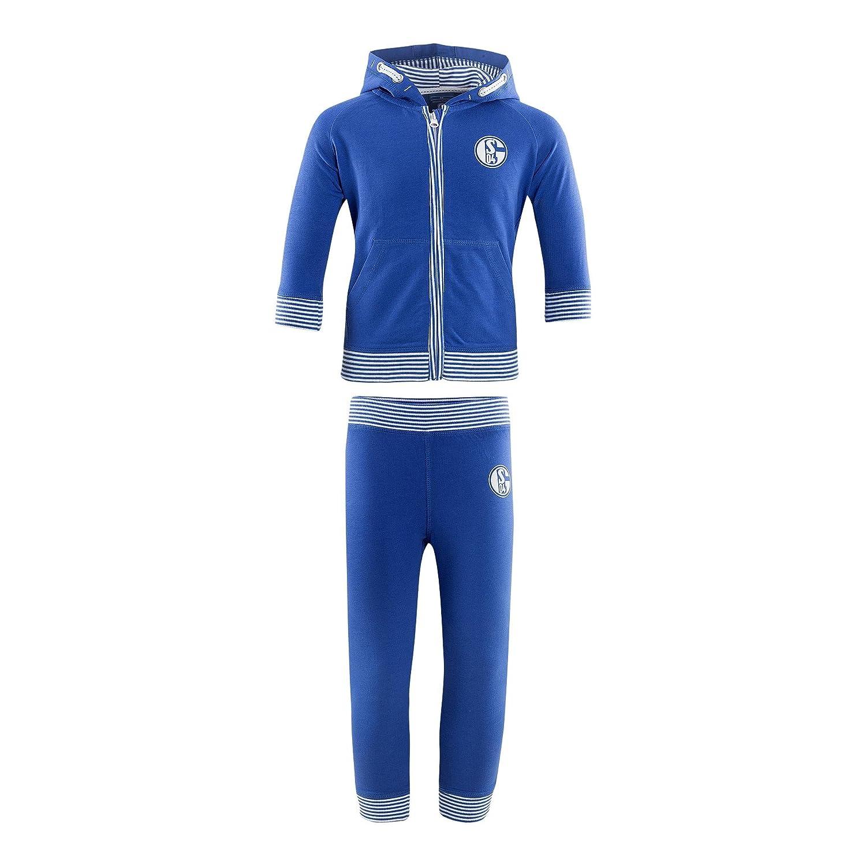 FC Schalke 04 Chándal para bebé, niño, Azul, 80: Amazon.es ...