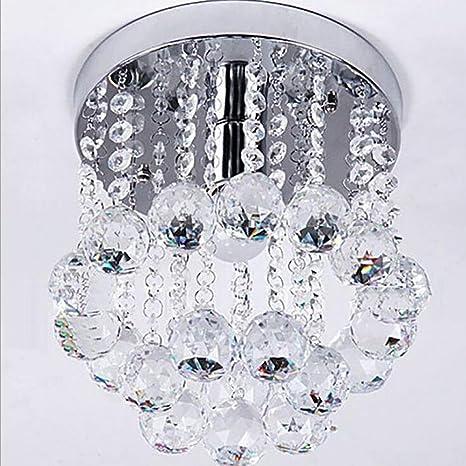 Lámpara de techo de cristal creativa moderna Lámpara de ...