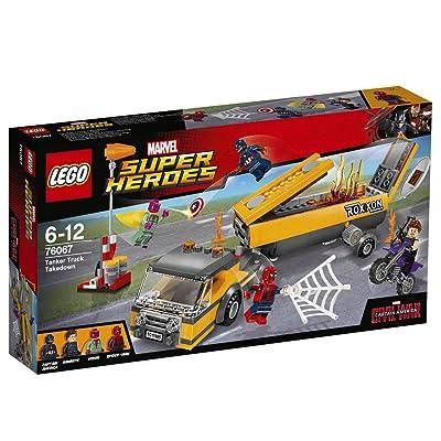 LEGO Marvel Super Heroes 76067 Tanker Truck Takedown: Toys & Games