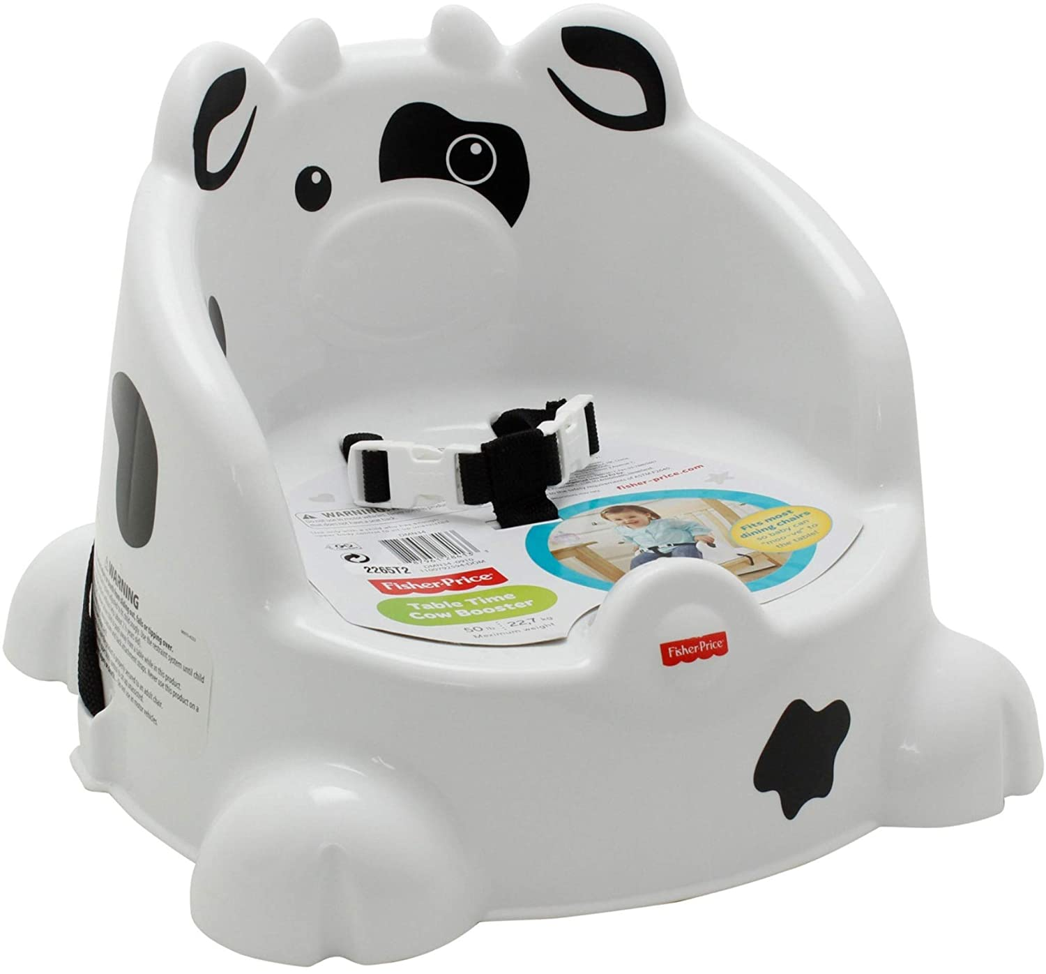 Fisher-Price Table Time Cow Booster DMN34
