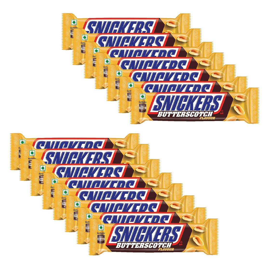 Snickers Butterscotch Flavour Chocolates Valentines Day Gift Pack- 40g Bar (Pack of 15)