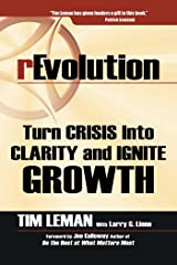 Revolution: Turn Crisis into Clarity and Ignite Growth Kindle Edition
