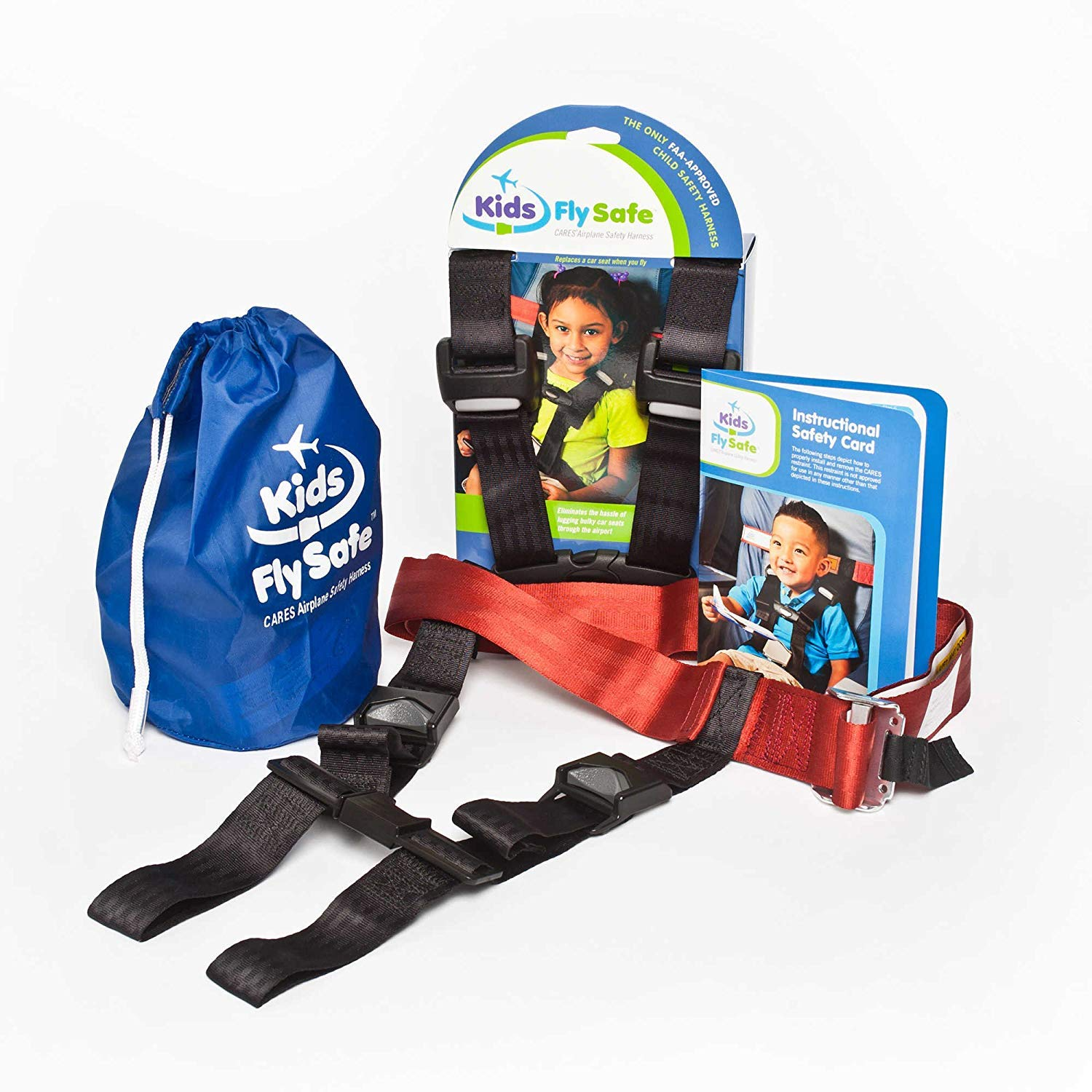 Child Airplane Travel Harness – Cares Safety Restraint System – The Only FAA Approved Child Flying Safety Device