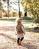 XBTCLXEBCO Toddler Girl Faux Fur Vest Coat Winter