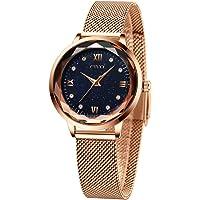 CIVO Relojes Mujeres Oro Rosa Impermeable de Acero Inoxidable Reloj Mujer de Pulsera Marea Vestido Relojes Analógicos…