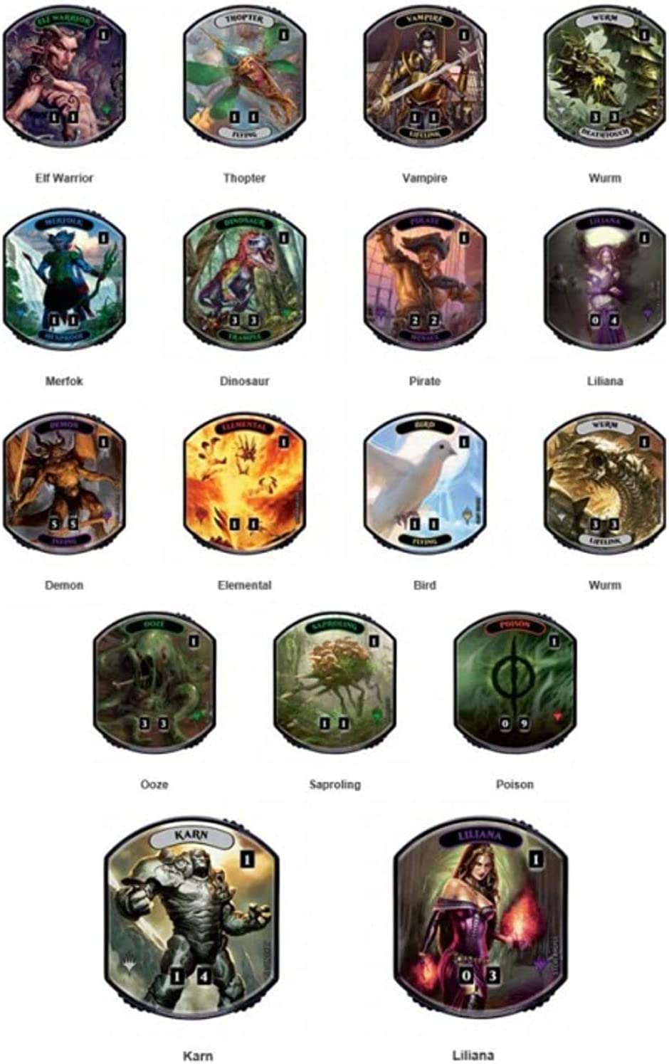 Relic Token Pack 3 Tokens per Pack Lineage Collection