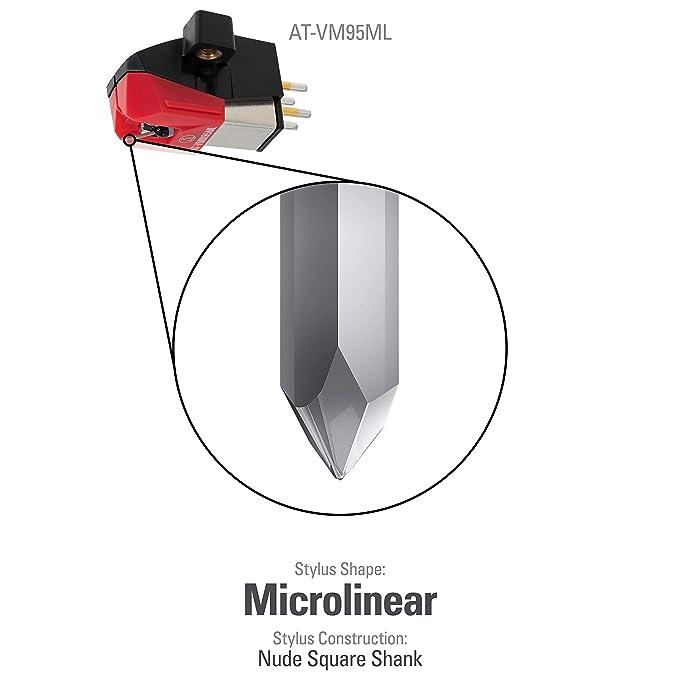 Audio-Technica at-VM 95 ML - Pastilla para Guitarra: Amazon.es ...