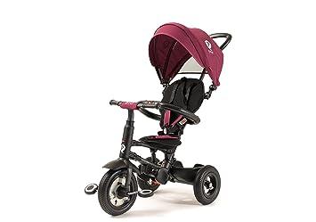 794f52914f1 Amazon.com : Q Play Rito Plus Foldable Trike (Burgundy) : Baby