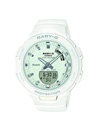 Amazon.com: Casio Baby-G Bluetooth Step Tracker Ladies ...