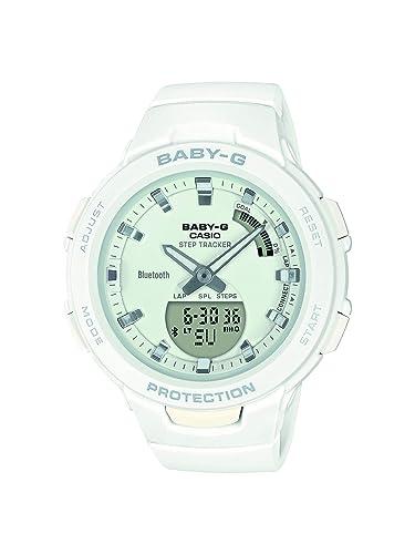 Casio Reloj Analógico-Digital para Mujer de Cuarzo con Correa en Resina BSA-B100-7AER: Amazon.es: Relojes