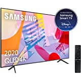 "Samsung QLED 4K 2020 50Q60T - Smart TV de 50"" con Resolución 4K UHD, con Alexa integrada, Inteligencia Artificial 4K…"