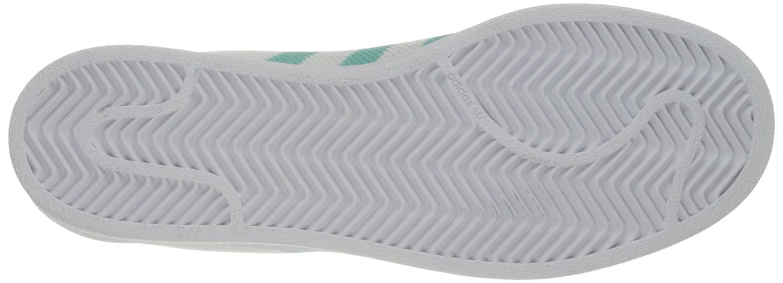 adidas Women's Originals Superstar B01LZAEG93 10.5 B(M) US|White/Easy Mint/White