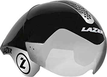 Lazer Wasp Air Tri - Casco de Bicicleta - Negro Contorno de la Cabeza 52-