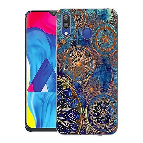 Amazon.com: Samsung Galaxy M20 Case, CaseExpert Pattern Soft ...