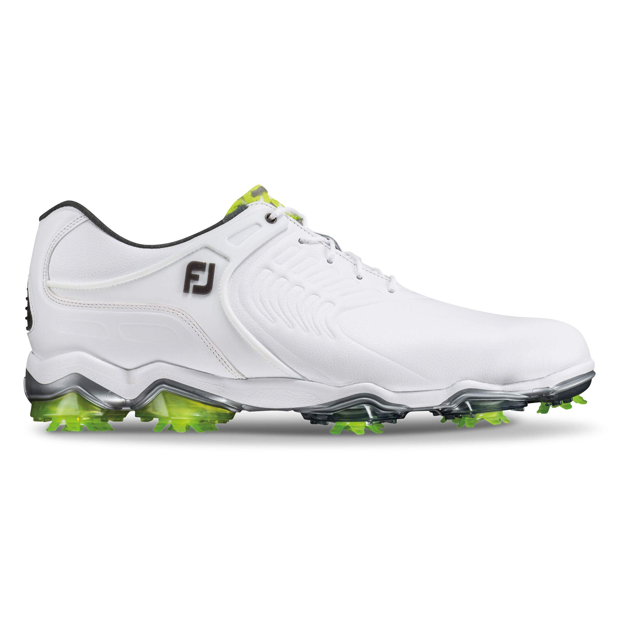 FootJoy Men's Tour-S Golf Shoes White 7 W US by FootJoy