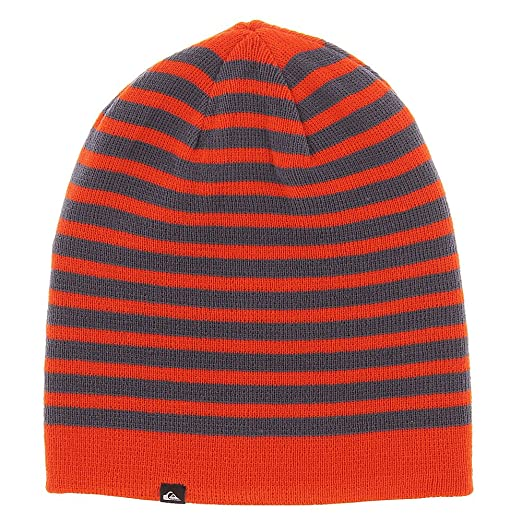 764e6553c20 Amazon.com  Quiksilver Boys Preference - Beanie Beanie Orange One ...