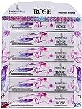GJ BOON Sacred BLU Aromatics - Varillas de Incienso (Hechas a Mano), diseño de Rosas