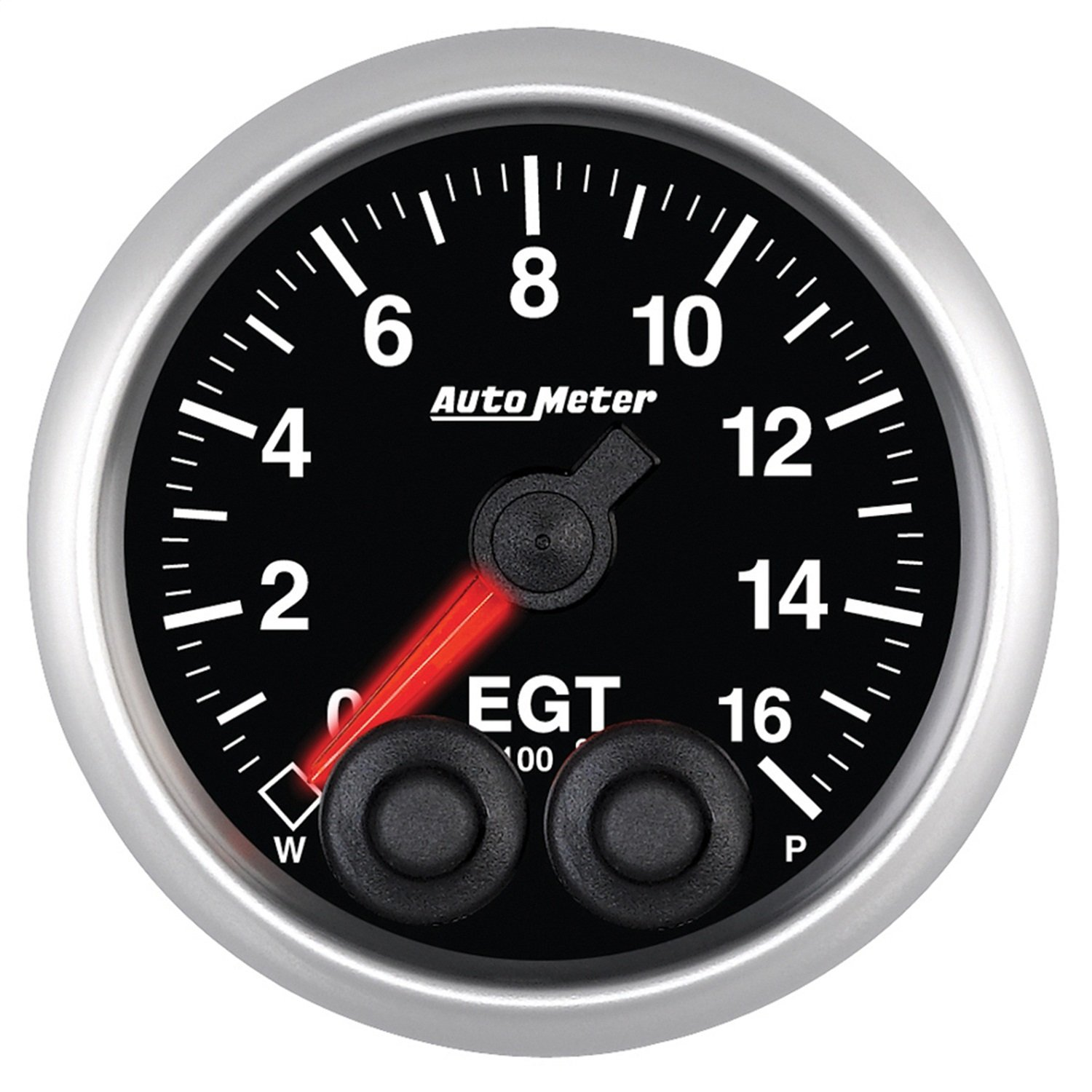 Auto Meter 5646 Elite 2-1/16'' 0-1600 Degree Fahrenheit Exhaust Gas Temperature Pressure Gauge by Auto Meter (Image #1)