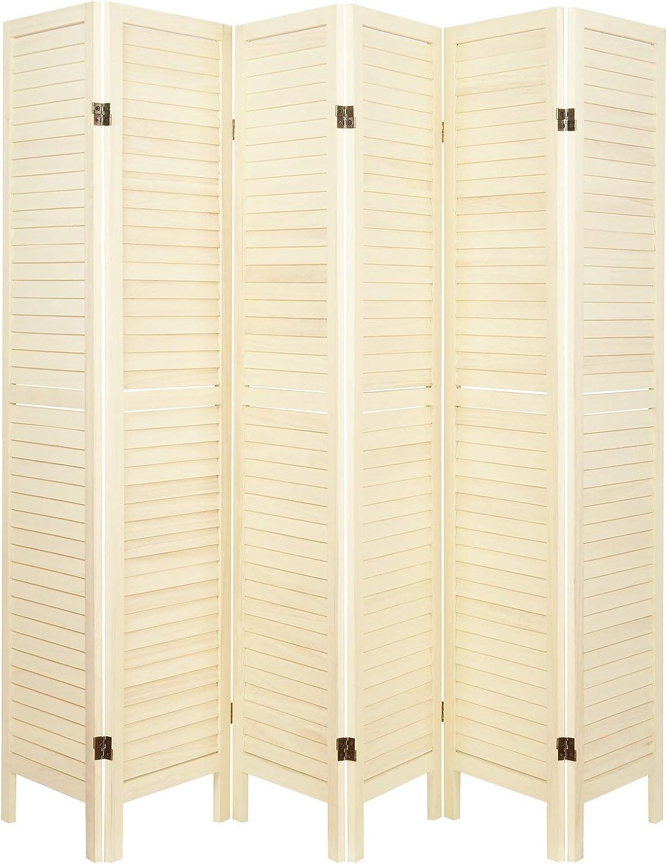 Hartleys Mampara Plegable con tablillas de Madera - Varios tamaños y Colores: Amazon.es: Hogar