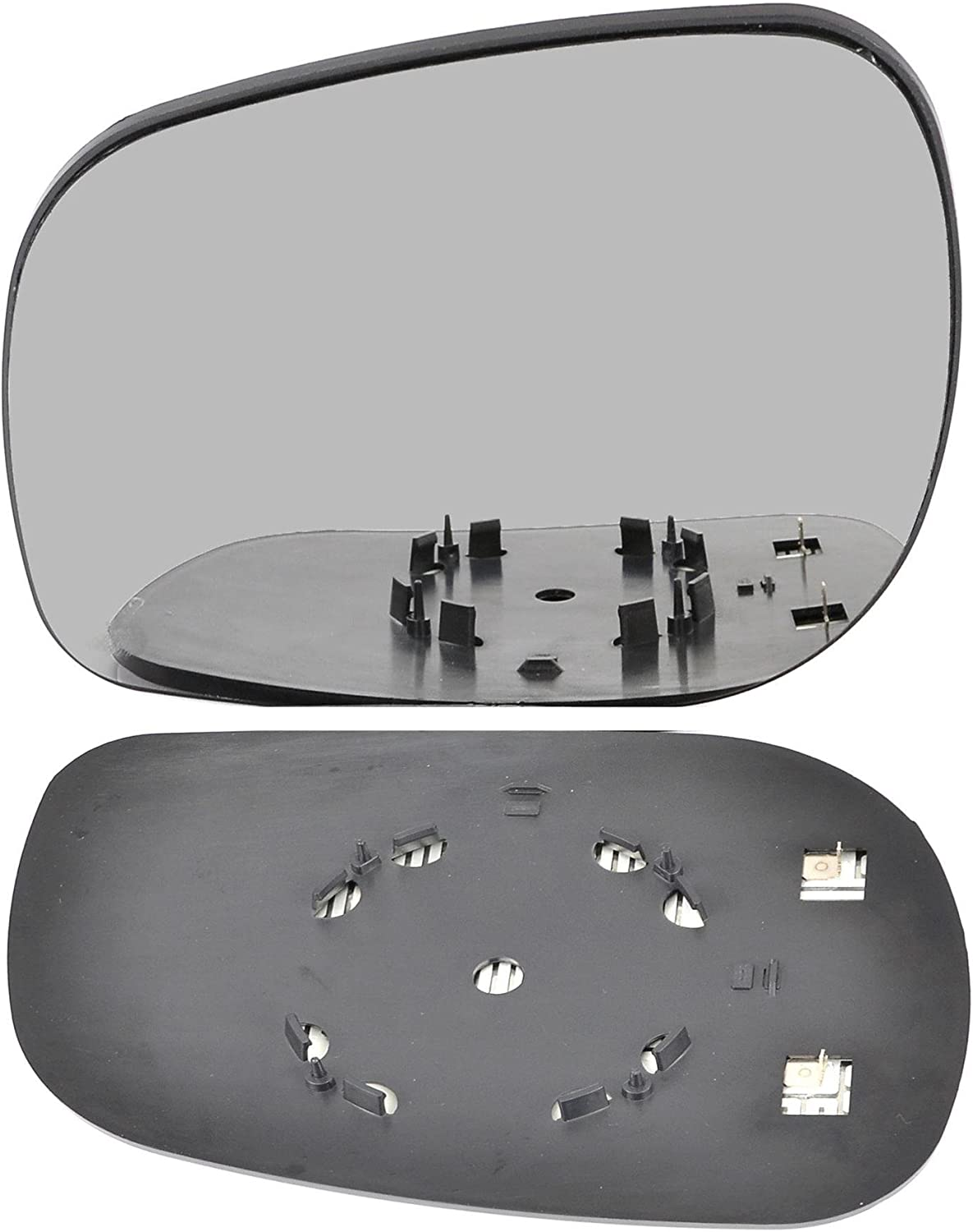 passenger side wing door clip mirror glass heat # LaFre//HY0-1906496//590 Left