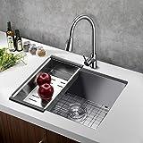 Stainless Steel Kitchen Sink Handmade Drop In