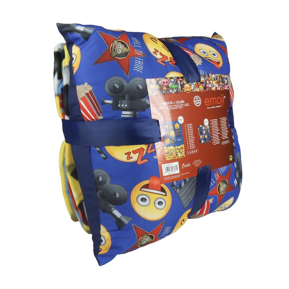 Cerdá Emoji, Calentadores para Niños, (Azul 04), One Size (Tamaño del Fabricante:Única): Amazon.es: Ropa y accesorios
