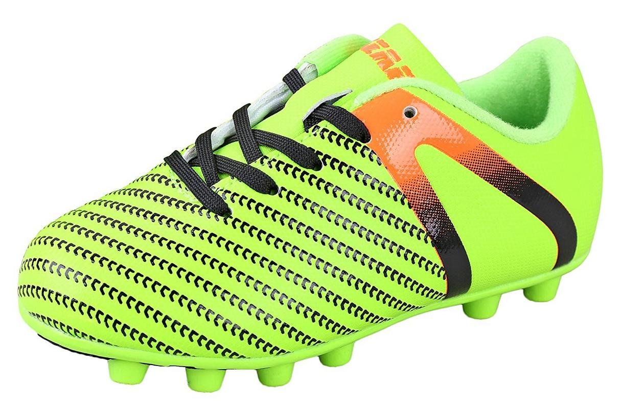 Vizari Kids' Impact Fg Soccer Shoe B0784D1CHB 10 Regular US Toddler|Impact Green/Orange