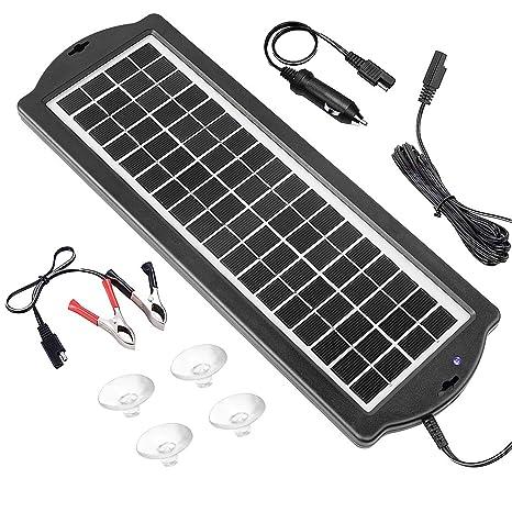 Cargador de batería solar para coche, 3, 5 W, 12 V, cargador ...