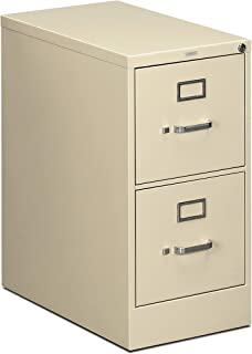 product image for HON Two-Drawer Filing Cabinet- 510 Series Full Suspension Letter File Cabinet, 29 by 15-inch, Putty (H512)