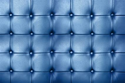 Amazon Com Lfeey 5x3ft Blue Leather Upholstery Pattern